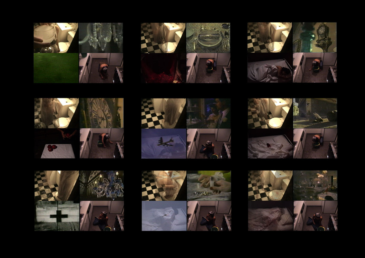 Mariam Ghani, The Glass House Home Movies stills