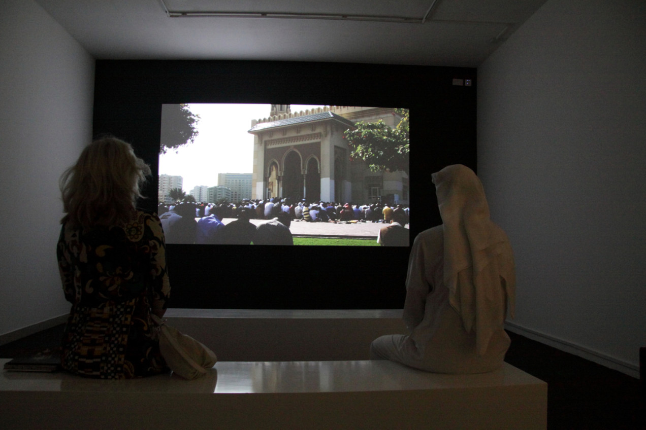 Smile, you're in Sharjah at the Sharjah Biennial 9, 2009