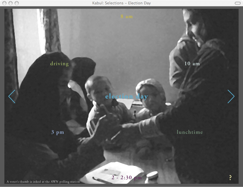 Mariam Ghani, Kabul: Selections screenshot
